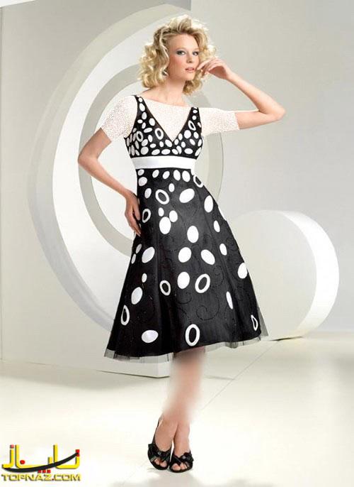 لباس کوتاه مجلسی تابستانه