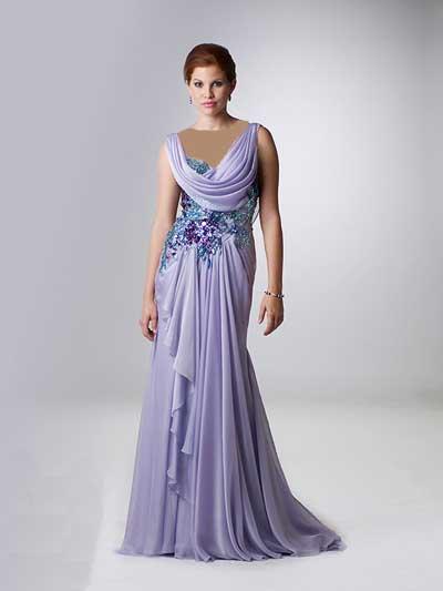 مدل جدید لباس شب 2012