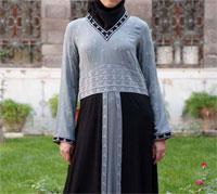 مدل مانتو اسلامی بلند و شیک