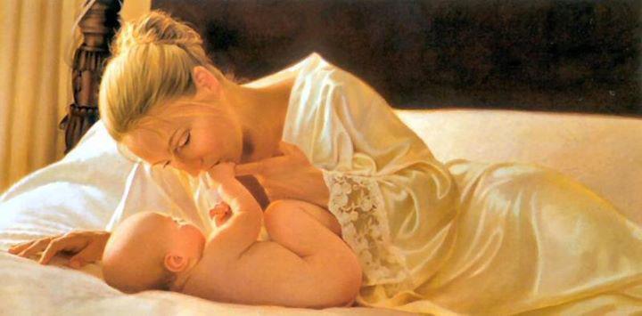 نقاشی روز مادر