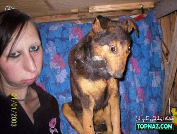 سگ عجیب