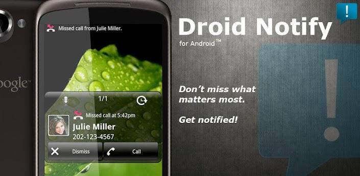 یادآوری وقایع با Droid Notify Pro v3.8