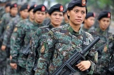 پلیس زنان فیلیپین