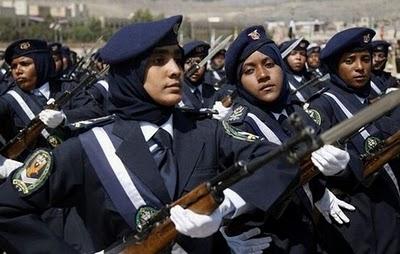 پلیس زنان یمن
