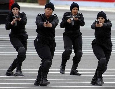 پلیس زنان کویت
