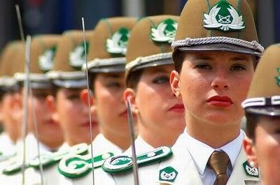 پلیس زنان شیلی