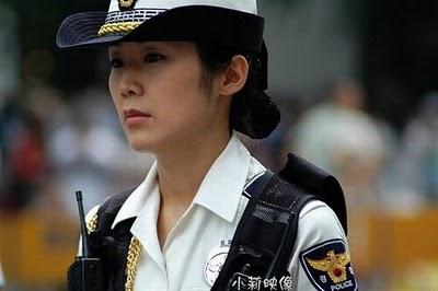 پلیس زنان کره جنوبی