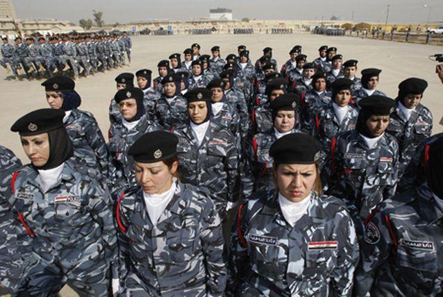 زنان پلیس عراقی