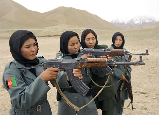 زنان پلیس افغانستان