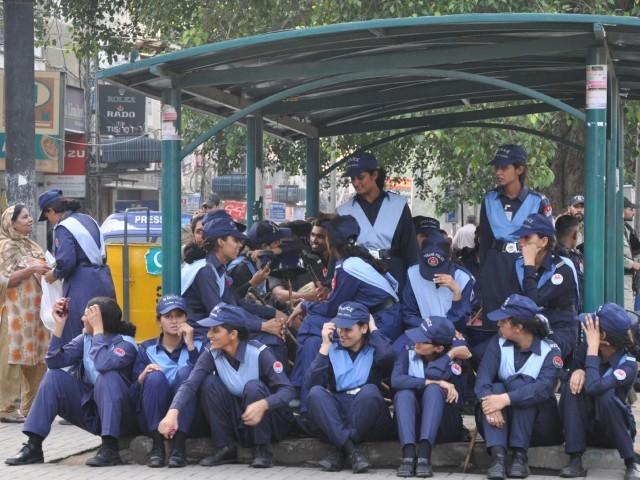 زنان پلیس پاکستان