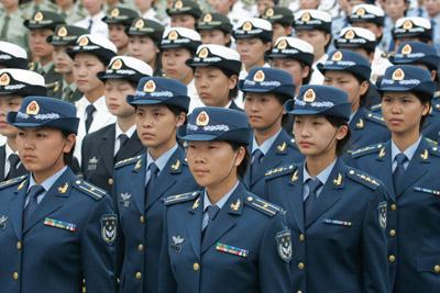 زنان پلیس چین