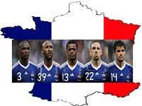فرانسه 2 اوکراین 0 در یورو 2012