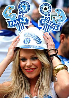 تصاویر زیبا از احساسات تماشاگران زن یورو 2012 (18)