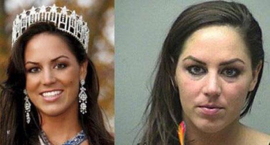 ملکه آمریکا بدون آرایش
