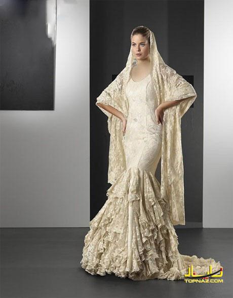 لباس عروس تابستان
