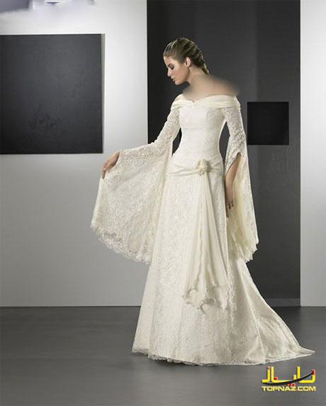 لباس عروس طراحی جدید