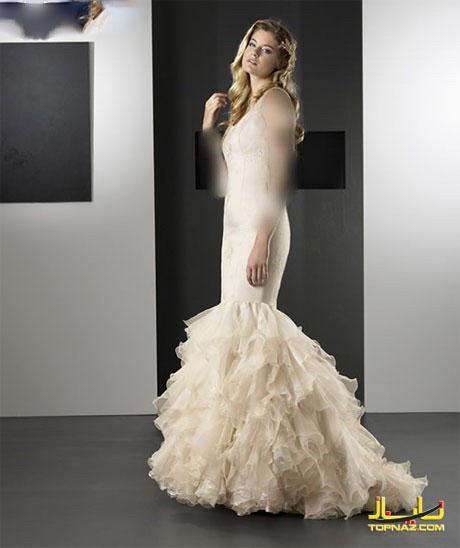 شیکترین لباس عروس تابستانه