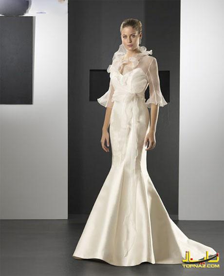 لباس عروس اروپایی تابستان امسال