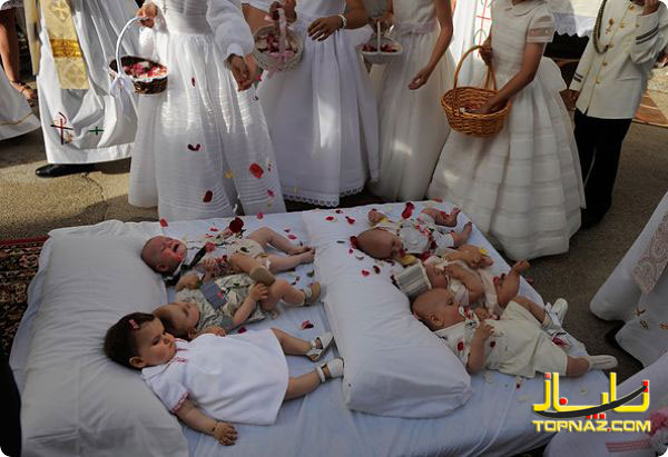 جشنوره پرش از نوزادان