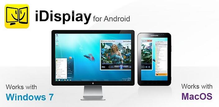 استفاده از گوشی به عنوان مانیتور با iDisplay v2.1.1