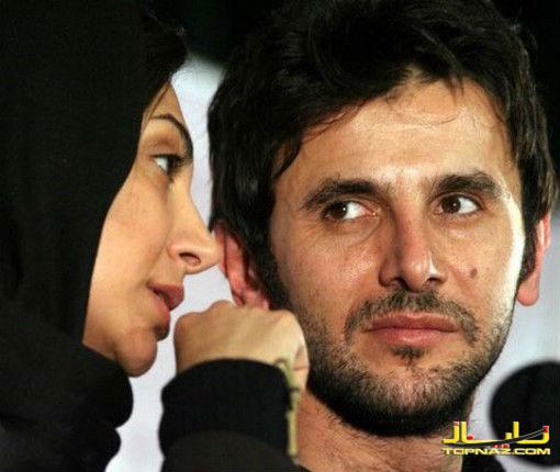 نیلوفر خوش خلق و همسرش