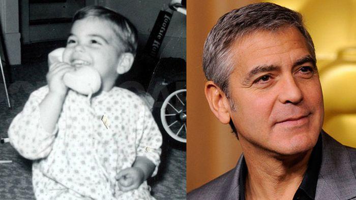عکس کودکی مشهورترین بازیگران هالیوودی (12)