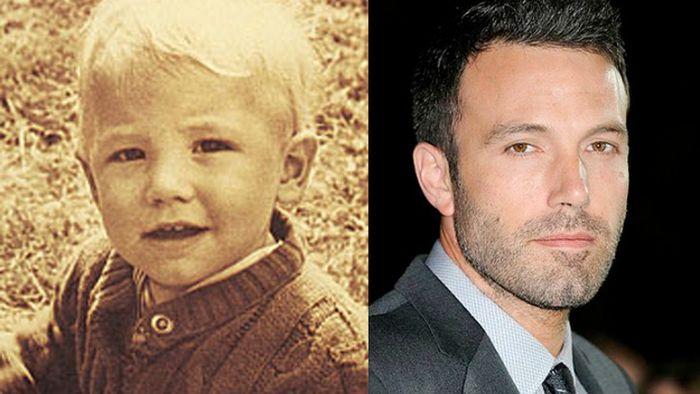 عکس کودکی مشهورترین بازیگران هالیوودی (11)