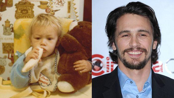 عکس کودکی مشهورترین بازیگران هالیوودی (5)