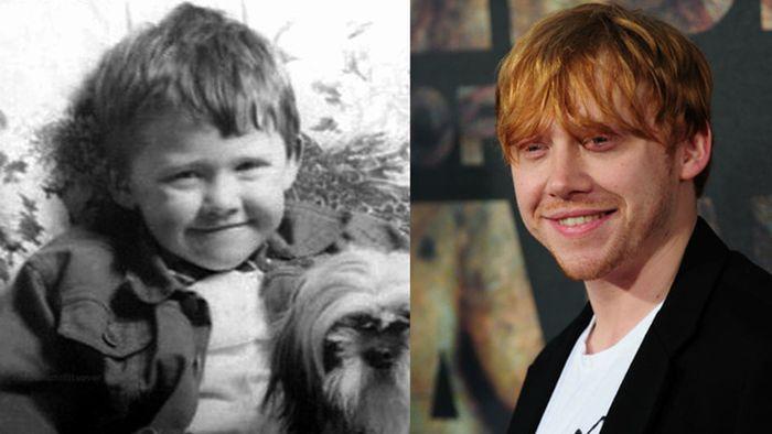 عکس کودکی مشهورترین بازیگران هالیوودی (4)