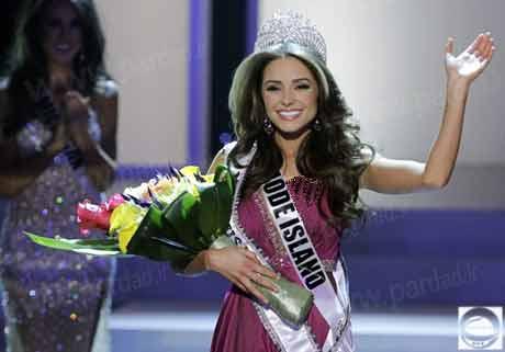 دختر شایسته 2012 آمریکا تاج گذاری کرد+تصاویر