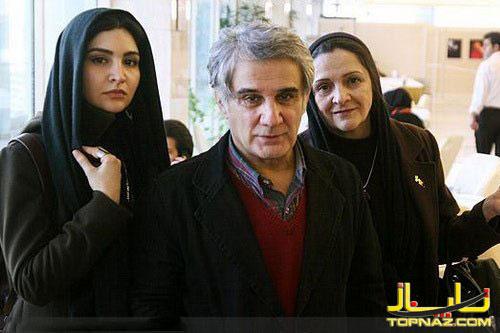 مهدی هاشمی و همسر و خترش