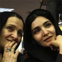 گلاب آدینه به همراه دختر و همسرش+تصاویر