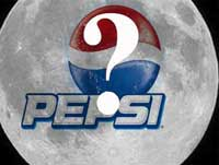 کاریکاتور شایعه لوگوی پپسی در ماه