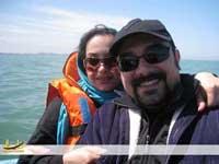 تصاویری از برزو ارجمند و همسرش پارمیس زند+بیوگرافی