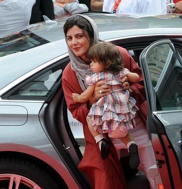 لیلا حاتمی و دخترش