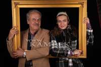 عکس هایی از رضا نیکخواه و دخترش