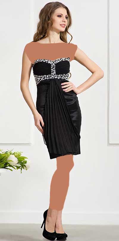 لباس کوتاه دخترانه
