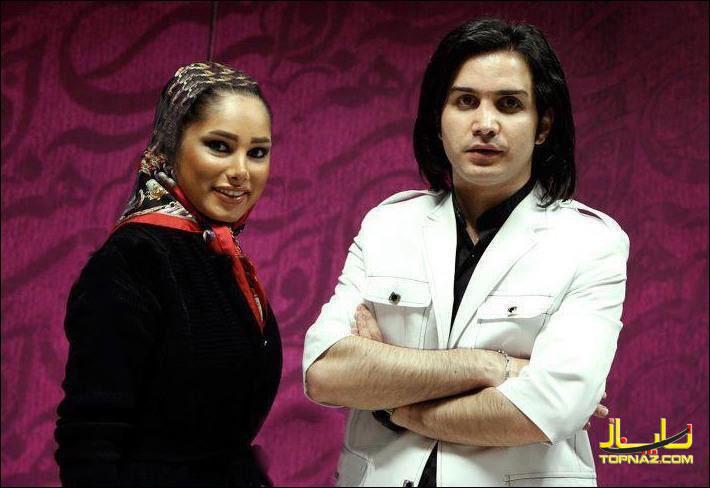 محسن یگانه و همسرش