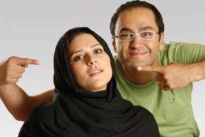 رامبد جوان و همسرش