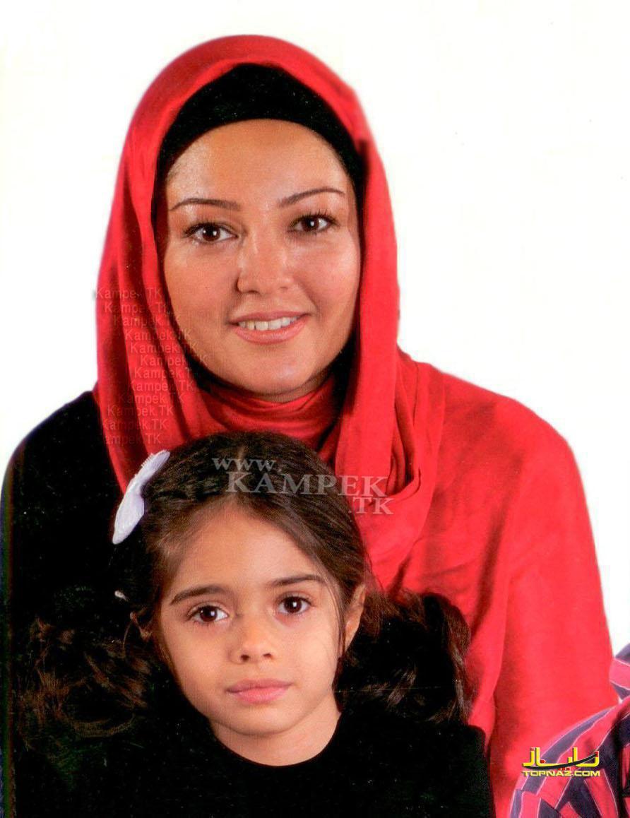 رزیتا غفری و دخترش