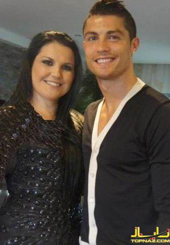 کریس رونالدو و خواهرش
