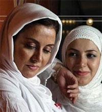 عکسی از خاله شادونه و خواهرش مریلا زارعی