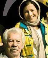 عکسی از داوود و لیلی رشیدی و باران کوثری