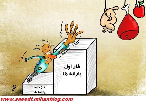 کاریکاتور یارانه