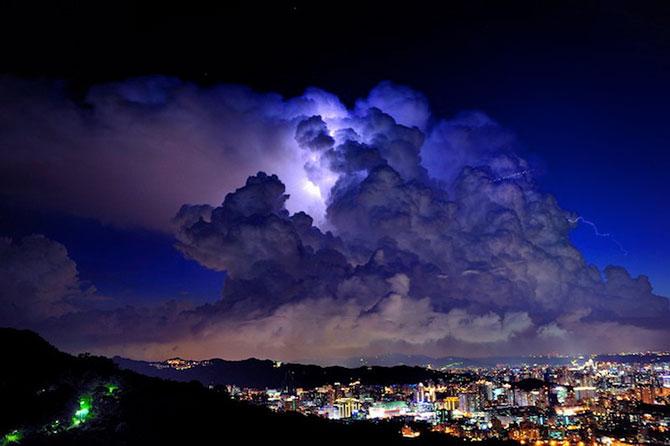 عکس از ابر آسمان
