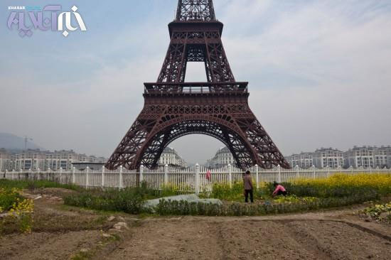 تصاویری از پاریس تقلبی؛ ساخت چین!