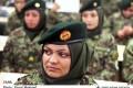 فارغ التحصیلی زنان ارتشی افغان +تصاویر