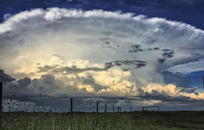 عکس هایی زیبا از ابرهای زیبا در آسمان + تصاویر هوای ابری زیبا برای پروفایل
