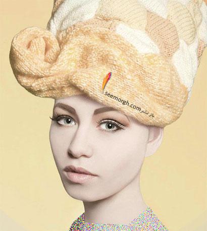 کلاه بافتنی زنانه