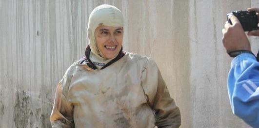 دختر بدلکار ایرانی
